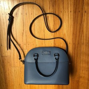 Blue Kate Spade purse/crossbody